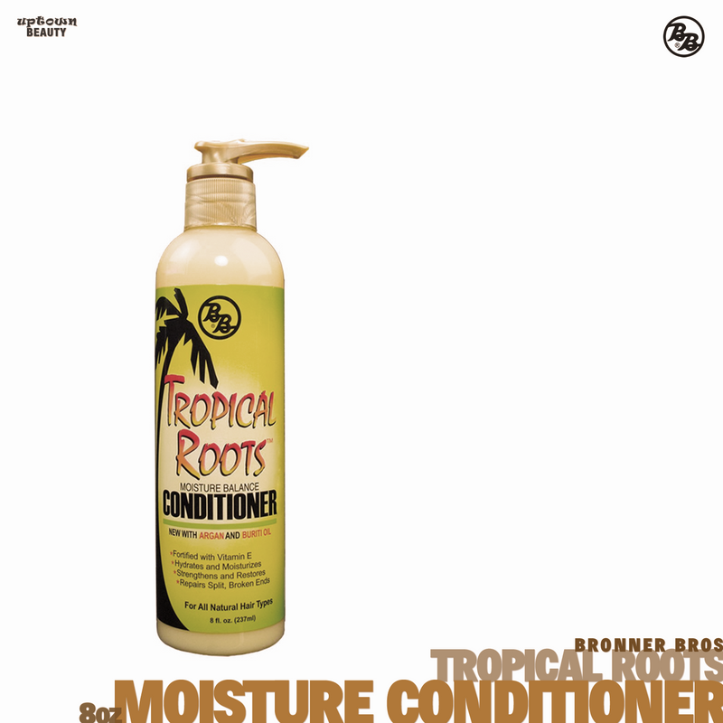 BRONNER BROS Tropical Roots Moisture Balance Conditioner 8oz