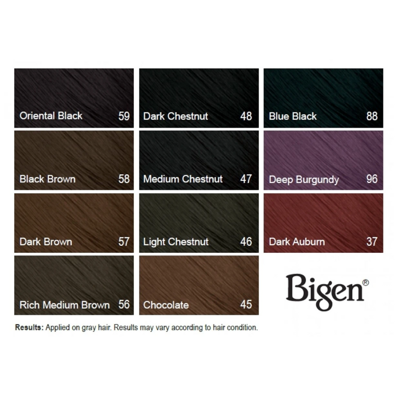 Bigen Permanent Powder Hair Color 0.21oz