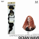 Bobbi Boss Unprocessed Virgin Human Hair Bundle Weave BOSS BUNDLE # Ocean Wave #10 inches