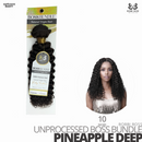 Bobbi Boss Unprocessed Virgin Human Hair Bundle Weave BOSS BUNDLE # Pineapple Deep #10 inches