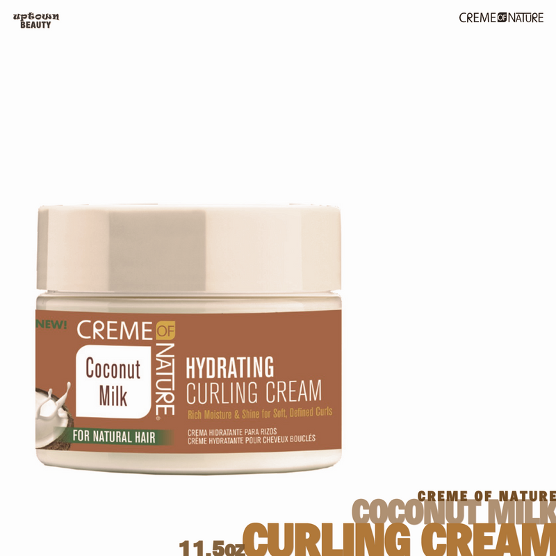 Creme Of Nature Coconut Milk Curling Cream 11.5 Ounce (340ml)