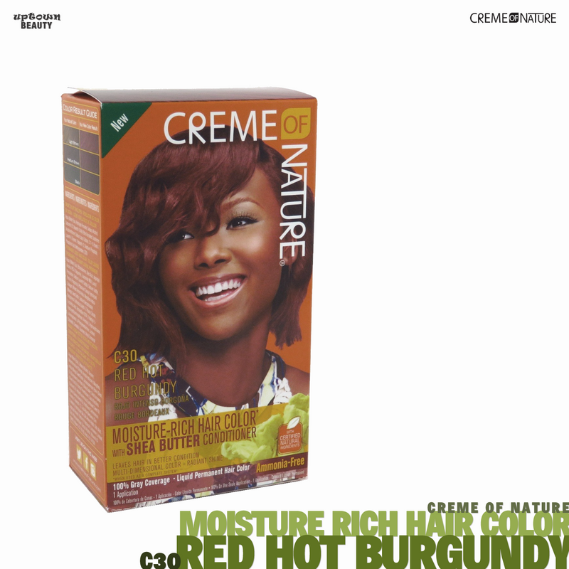 Creme Of Nature Moisture Rich Hair Color - C30 Red Hot Burgundy