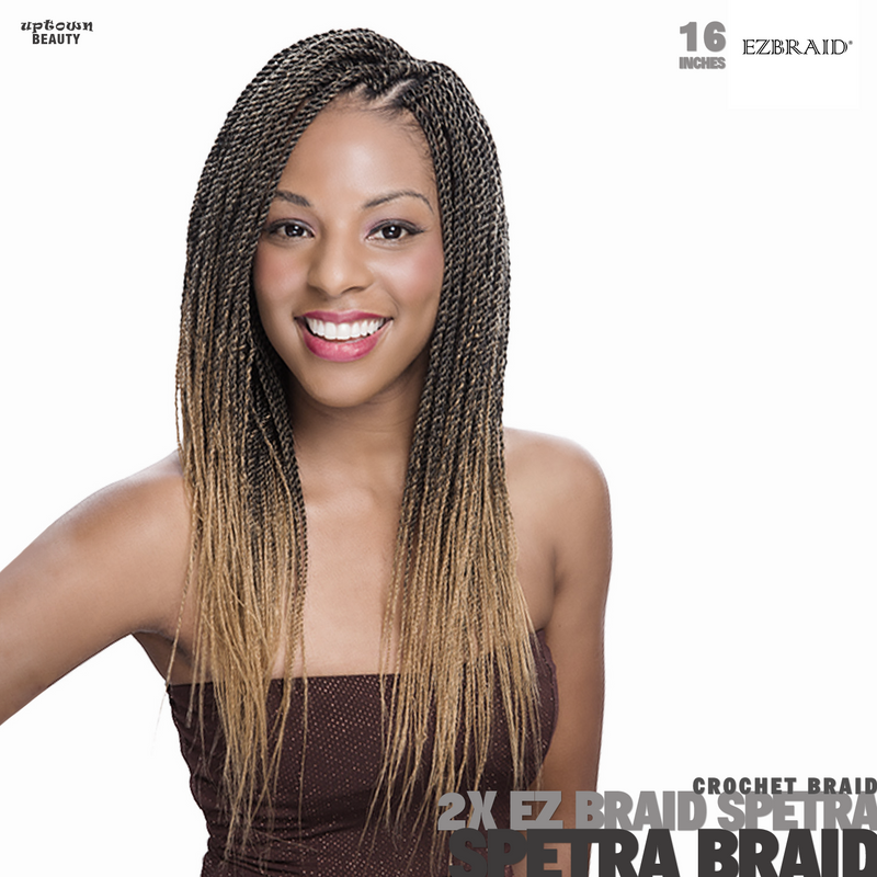 Innocence Hair Spetra Synthetic Hair Braids Ez Braids Pre -Stretched 2x-16 inch