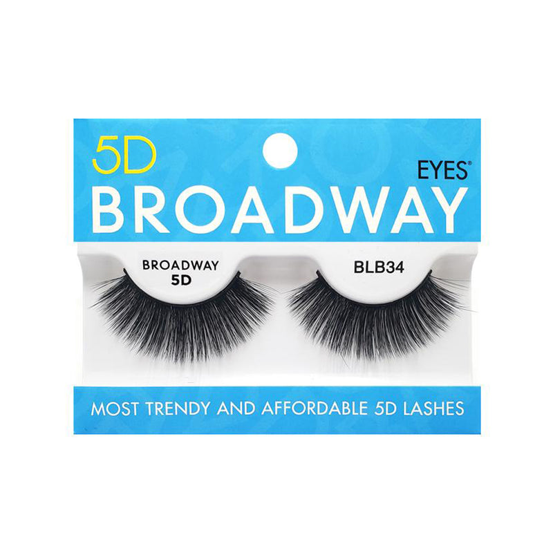 KISS 5D BROADWAY Lashes BLB34