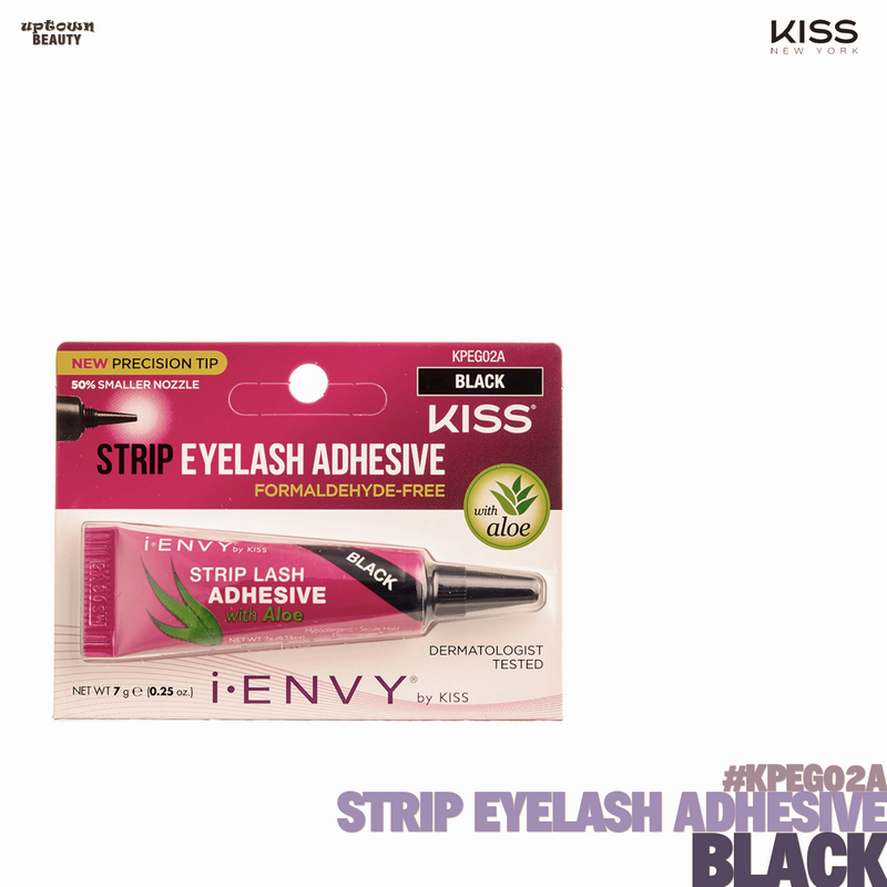 KISS Strip Eyelash Adhesive KPEG02A-Black