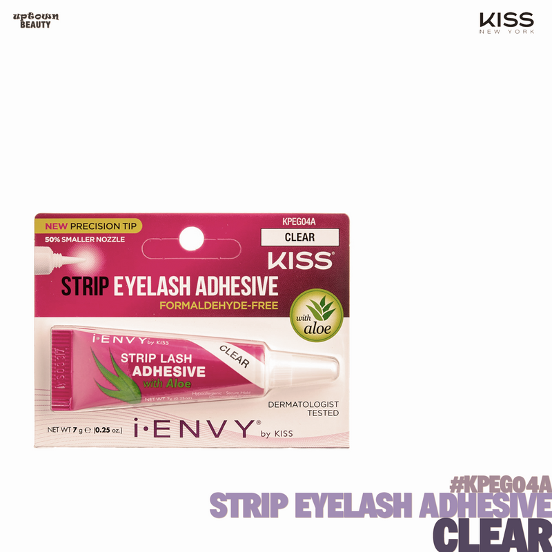 KISS Strip Eyelash Adhesive KPEG04A-Clear