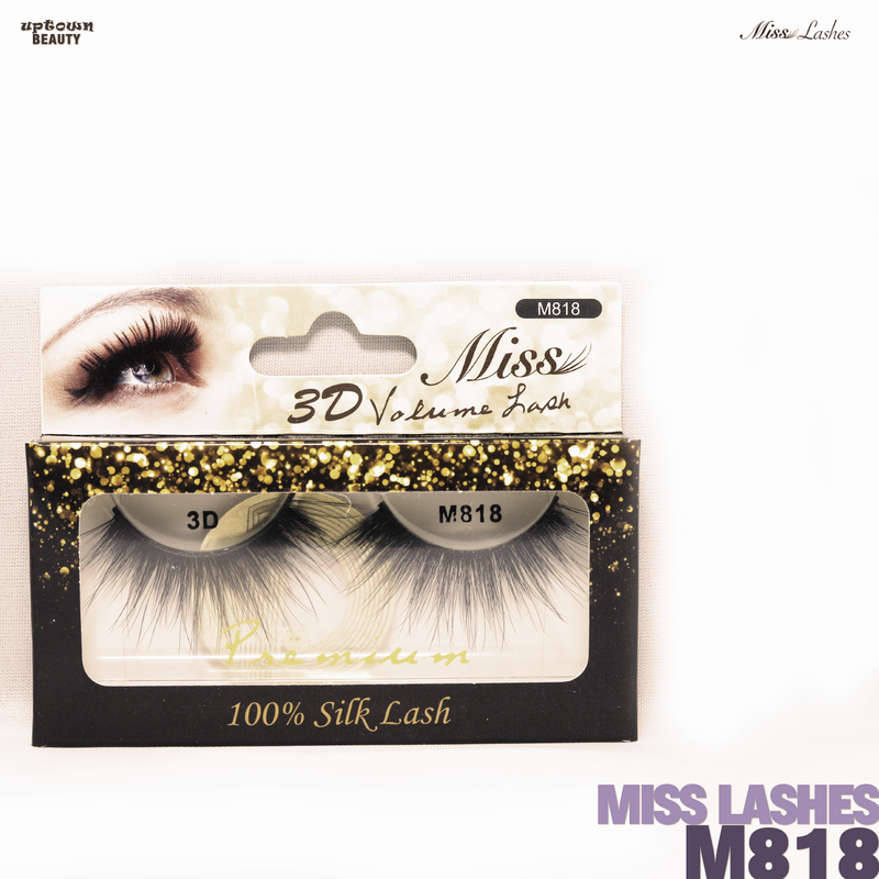 Miss Lashes 3D Volume False Eyelash - M818