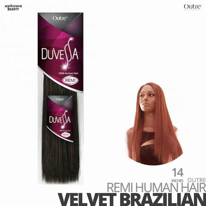 [BUY 1 GET 1]OUTRE 100% Human Weave Hair Yaki DUVESSA-