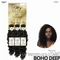 OUTRE Human Bundle- My Tresses Gold Label -# Boho Deep 10-12-14 inches