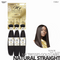 OUTRE Human Bundle- My Tresses Gold Label -# Natural Straight 14-16-18 inches