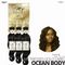 OUTRE Human Bundle- My Tresses Gold Label -# Ocean Body 14-16-18 inches