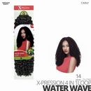Outre Synthetic Hair Crochet Braids X-Pression Braid Water Wave Loop 14 inch