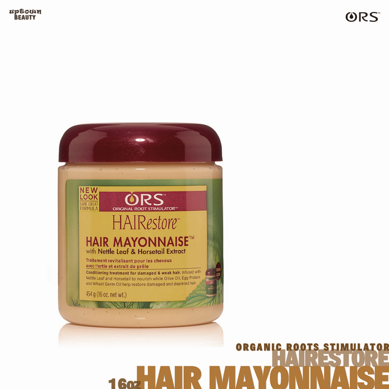 Organic Root Stimulator Oilive Oil Hairestore Hair Mayonnaise 16oz