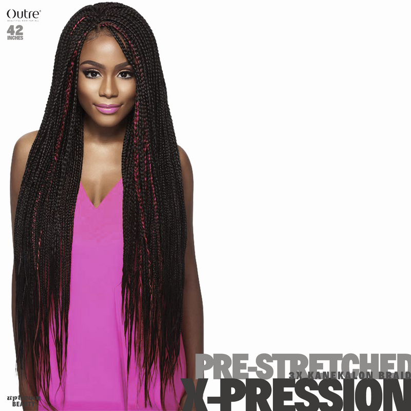 Outre Braids X-Pression Kanekaion 3X Pre Stretched 42inches