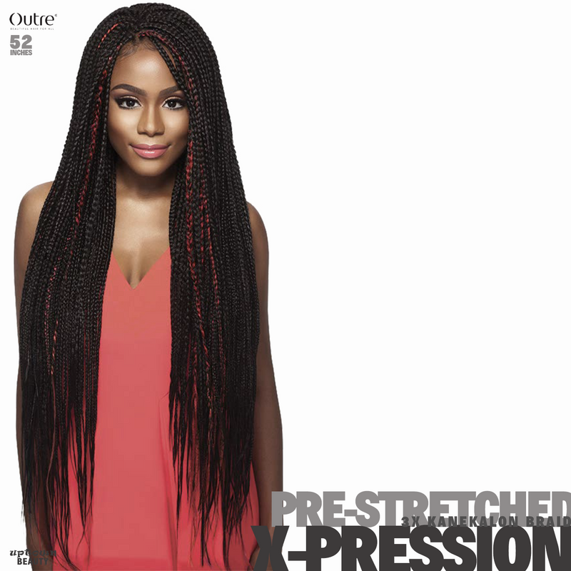 Outre Braids X-Pression Kanekaion 3X Pre Stretched 52inches