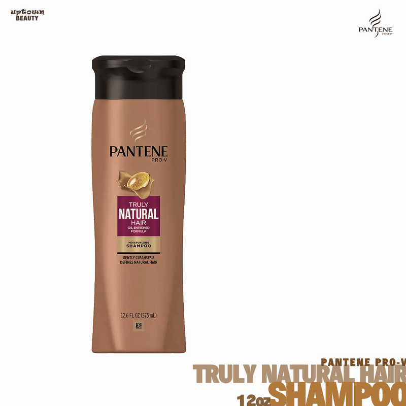 Pantene Pro-V Truly Natural Hair Moisturizing Shampoo 12oz