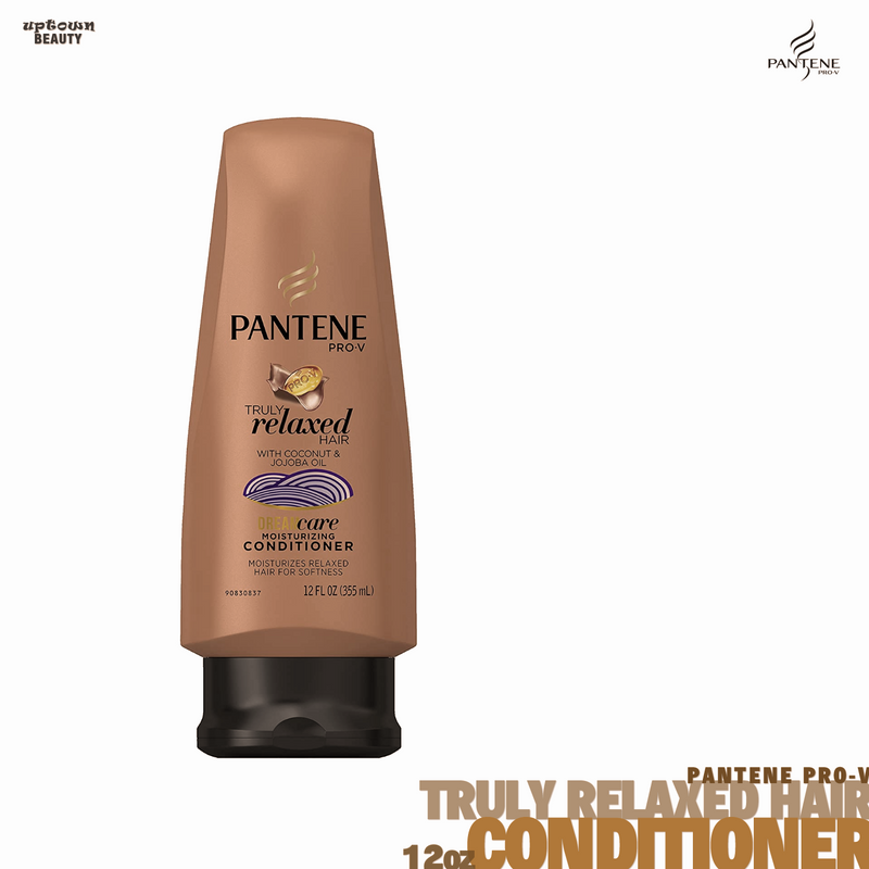 Pantene Pro-V Truly Relaxed Hair With Coconut & Jojoba Oil Dream Care Moisturizing Conditioner 12oz