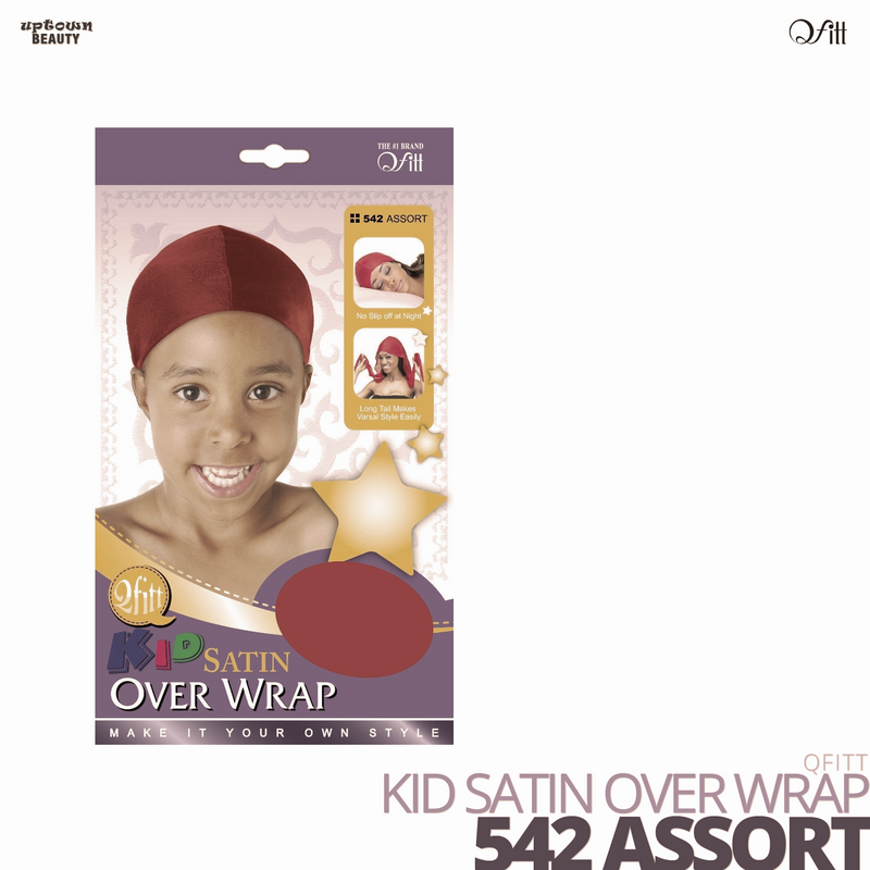 QFITT - Kid Satin Over Wrap
