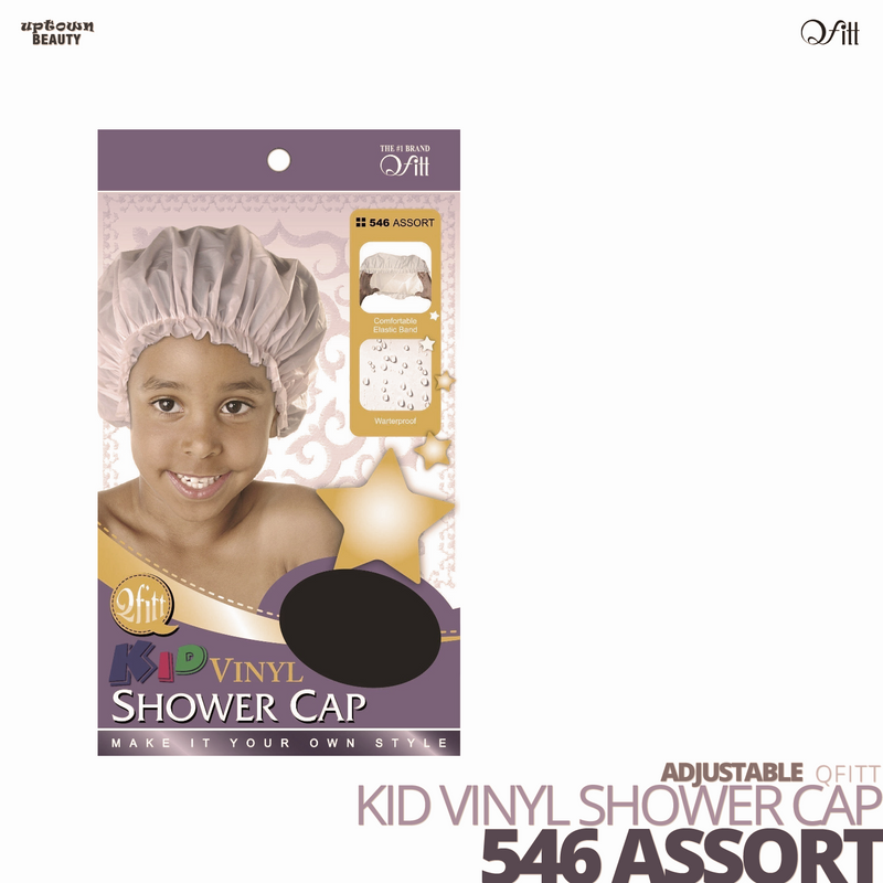 QFITT - Kid Vinyl Shower Cap