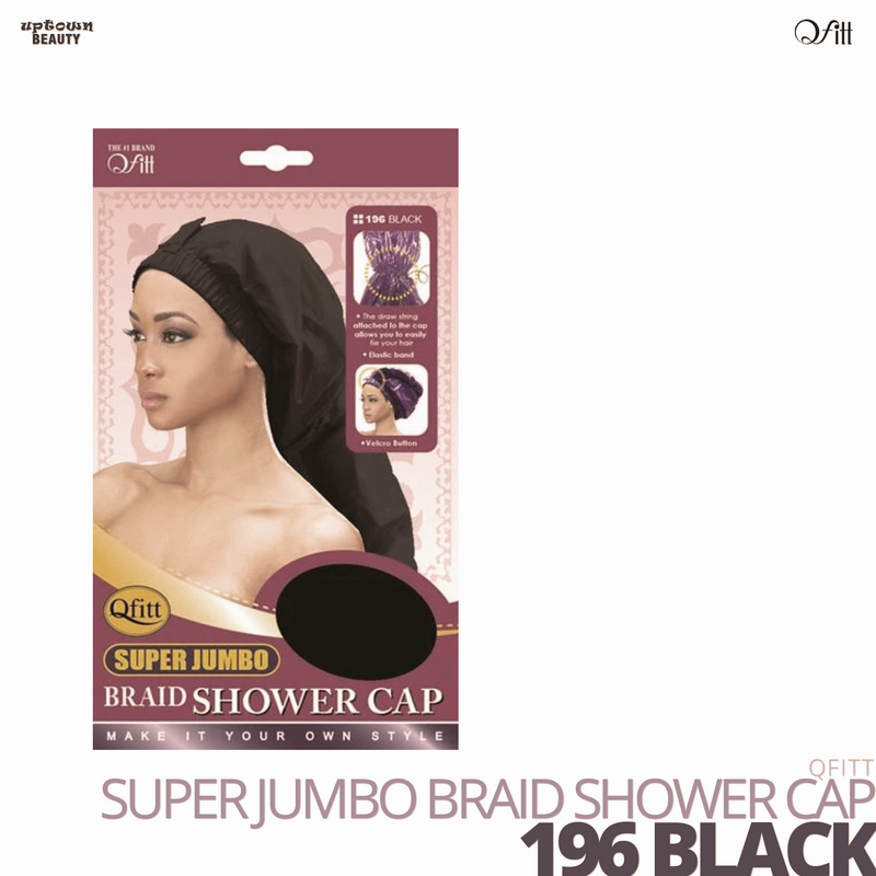 QFITT - Super Jumbo Braid Shower Cap