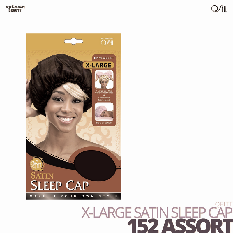 QFITT - X-Large Satin Sleep Cap
