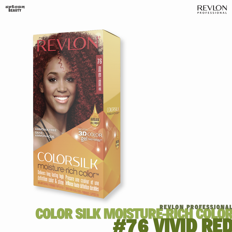 REVLON Color-silk Moisture-Rich Color Permanent Color