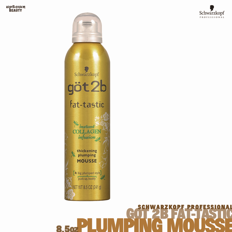 SCHWARZKOPF Got2B Fat-Tastic Thickening Plumping Mousse 8.5oz