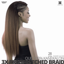 SHAKE-N-GO QUE 3X PRE-STRETCHED BRAID
