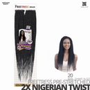 Shake n Go Synthetic Freetress Pre-Stretched 2X Nigerian Twist