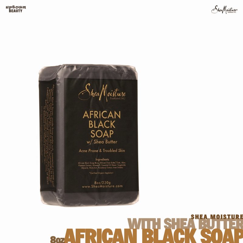 Shea Moisture African Black Soap with Shea ButterShea Moisture African Black Soap with Shea Butter ACNE PRONE & TROUBLE SKIN 8 oz 8 oz.png