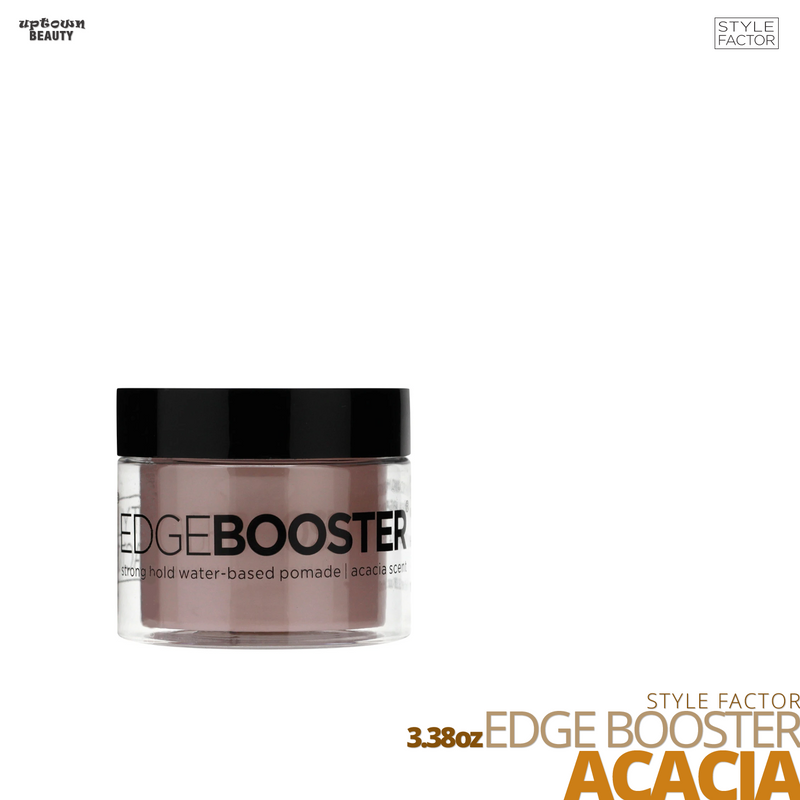 Style Factor Edge Booster Strong Hold Water-Based Pomade # 3.38oz # Acacia