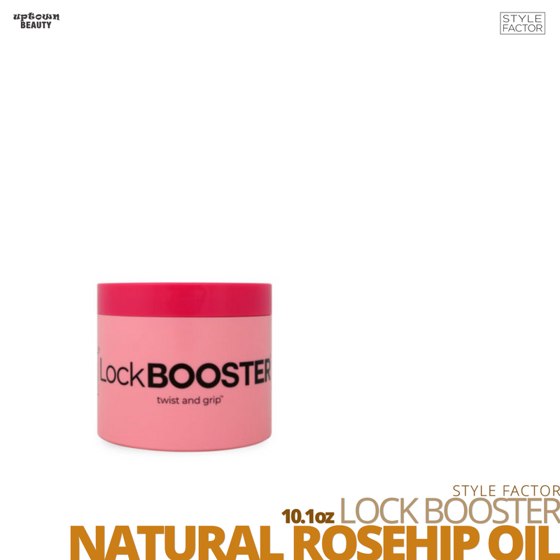 Style Factor Lock Booster Twist & Grip #10.1oz # With Natural Rosehip Oil