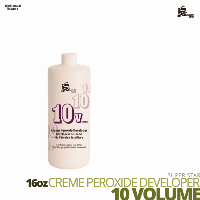 Super Star Cream Peroxide Developer Bleach # 10 volume # 16oz