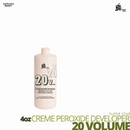Super Star Cream Peroxide Developer Bleach # 20 volume # 4oz
