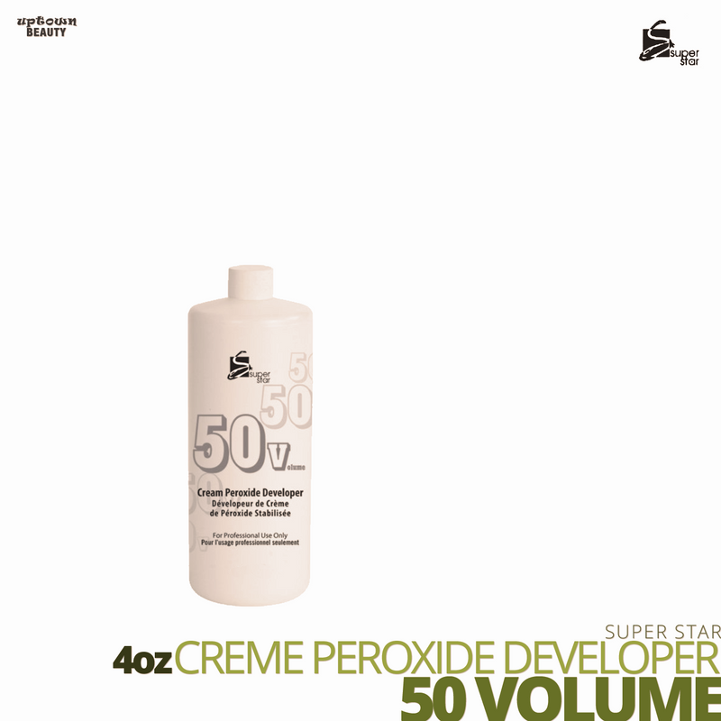 Super Star Cream Peroxide Developer Bleach # 50 volume # 4oz