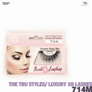 TRS THE TRUE STYLES- Luxury 3D Lashes - 714M