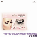 TRS THE TRUE STYLES- Luxury 3D Lashes - 721M
