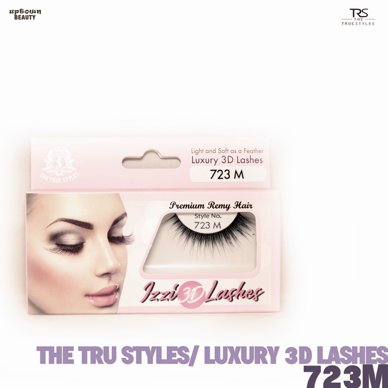 TRS THE TRUE STYLES- Luxury 3D Lashes - 723M