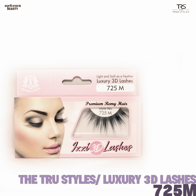 TRS THE TRUE STYLES- Luxury 3D Lashes - 725M