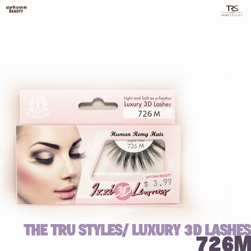 TRS THE TRUE STYLES- Luxury 3D Lashes - 726M