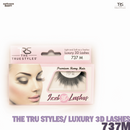 TRS THE TRUE STYLES- Luxury 3D Lashes - 737M