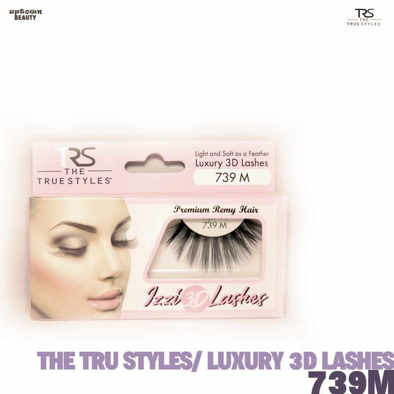 TRS THE TRUE STYLES- Luxury 3D Lashes - 739M