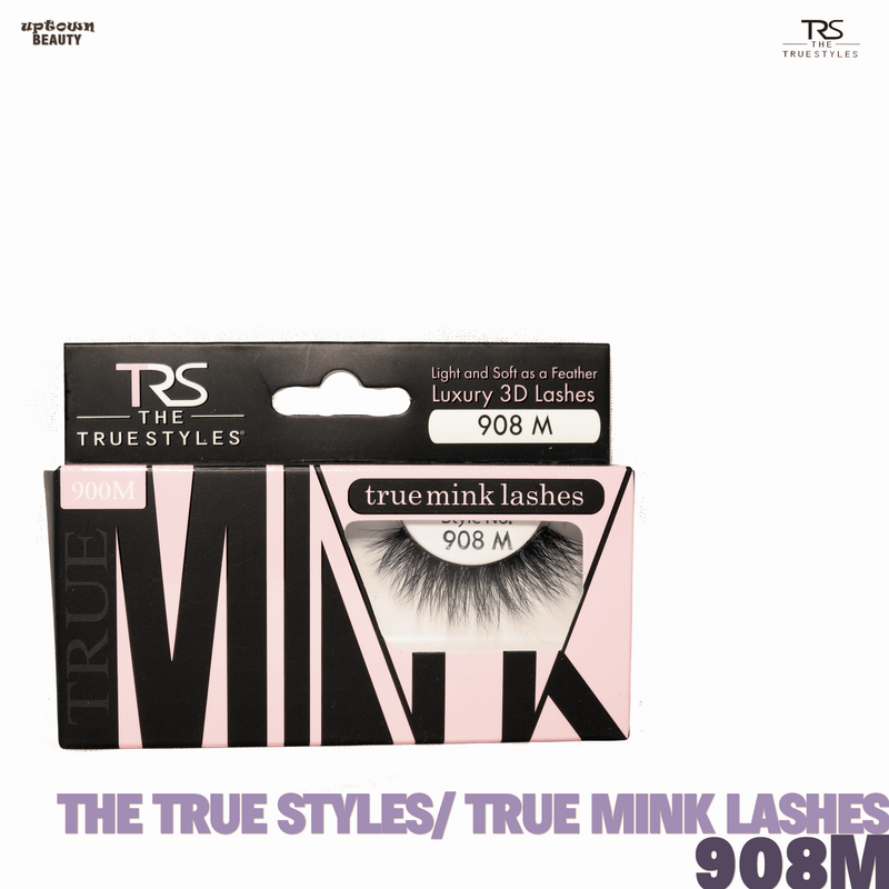 TRS THE TRUE STYLES- Luxury 3D Lashes Mink LAshes - 908M