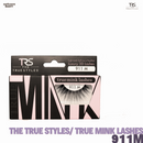 TRS THE TRUE STYLES- Luxury 3D Lashes Mink LAshes - 911M