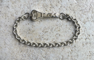 #1 Medium Sterling Silver 'Key To My Heart'