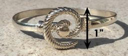 #300 Hurricane Bracelet twisted Sterling Silver