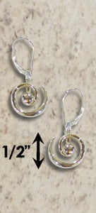 #230 Hurricane Earrings Sterling Silver
