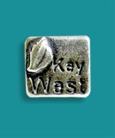 Key West Square Conch Charm