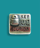 Key West Square Bouy Charm