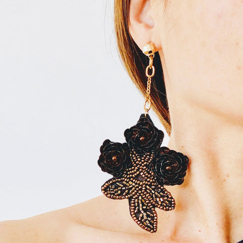 Floria Deluxe Statement Earrings